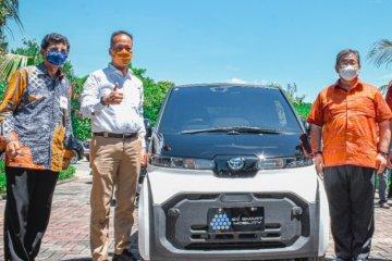 Menperin apresiasi Toyota, dukung percontohan mobil listrik di Bali