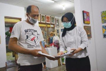 54 karya seni rupa berukuran mini dipamerkan di Yogyakarta