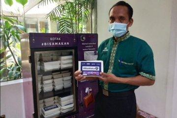 """Ada """"vending machine"""" makanan gratis Ramadhan di 4 RS rujukan Jakarta"""