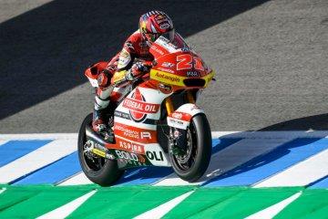 Membalap dengan hati, kunci sukses Fabio Di Giannantonio di Jerez