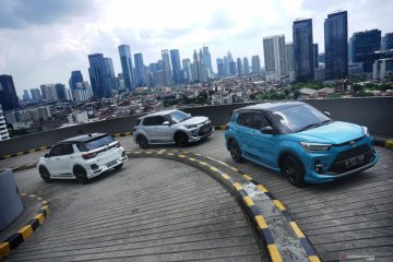 Mencicip mesin turbo Toyota Raize menjelajah ibu kota
