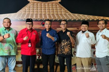 Sekjen parpol koalisi buka bersama upaya solidkan dukung Jokowi-Ma'ruf