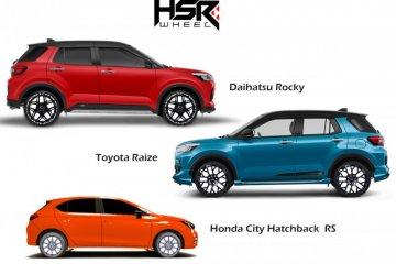 HSR Wheels luncurkan velg untuk Rocky, Raize dan City Hatchback