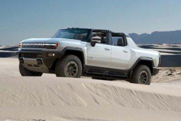 GM uji pikap Hummer listrik