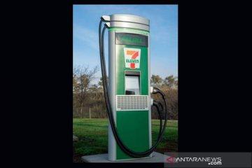 7-Eleven siapkan 500 port pengisian daya mobil listrik