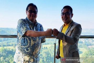 Ridwan Kamil bertemu Airlangga Hartanto bahas masalah aktual