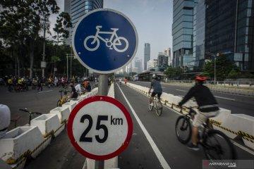Jakarta kemarin, dari uji jalur sepeda hingga ganja hidroponik