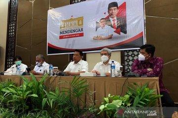 KSP Mendengar aspirasi masyarakat NTB terkait pariwisata