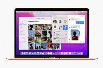 Apple rilis macOS Monterey, ini fitur-fitur barunya