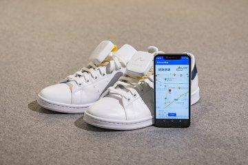Bantu tuna netra, Honda ciptakan navigasi dalam sepatu