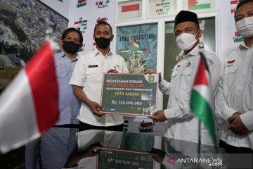 KNRP Aceh sumbang Rp1,7 miliar untuk bantu Palestina