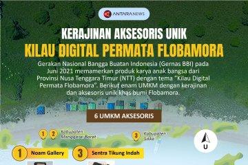 Kerajinan aksesoris unik Kilau Digital Permata Flobamora