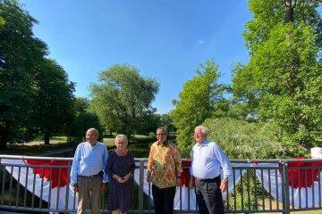 Jembatan Bandung diresmikan di Braunschweig-Jerman