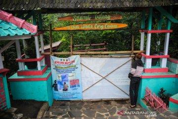 Jabar siaga satu COVID-19, semua tempat wisata di Kabupaten Bandung ditutup