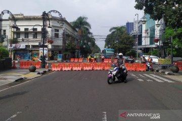 Polisi sebut penutupan jalan raya di Bandung tekan lonjakan COVID-19