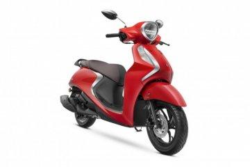 Begini penampakan skuter hybrid Yamaha Fascino 125 2021