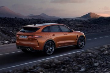 Jaguar sudah buka pemesanan F-Pace SVR