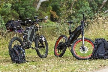 Stealth garap sepeda listrik offroad dan militer