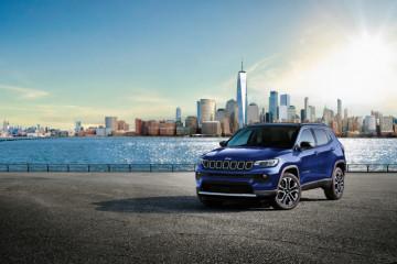 Jeep Compass 2022 hadir dengan serangkaian pembaruan di Australia