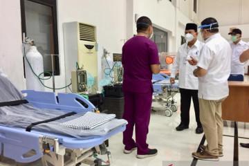 Prabowo Tinjau Kesiapan Pusdiklat Jemenhan Jadi RS Satelit Penanganan Pasien Covid
