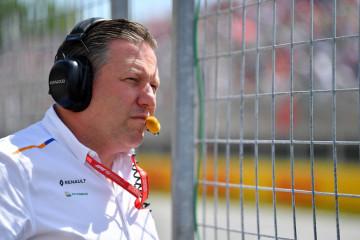 CEO McLaren Zak Brown positif Covid-19 jelang GP Inggris
