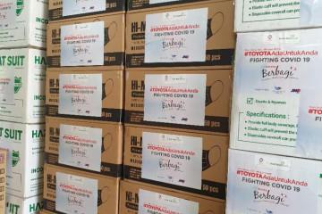 Bantu pemerintah tangani COVID, Toyota Indonesia donasi Rp1,55 miliar