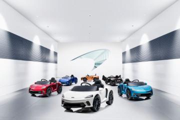 McLaren GT hadirkan kendaraan listrik untuk anak