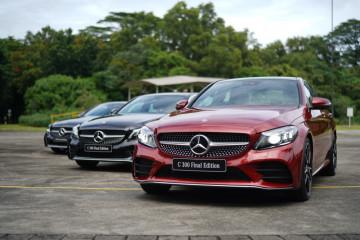 Mercedes-Benz catat hasil positif di semester awal 2021