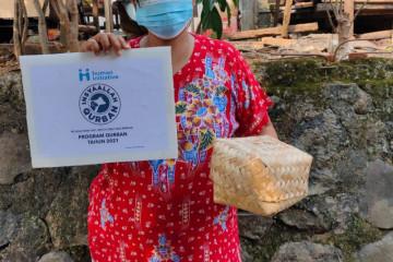 Human Initiative sebar daging kurban hingga ke Ethiopia