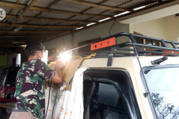 Bengkel aksesori mobil offroad kebanjiran pesanan selama PPKM