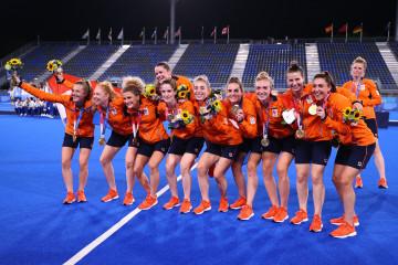 Gasak Argentina 3-1, Belanda bawa pulang emas hoki putri