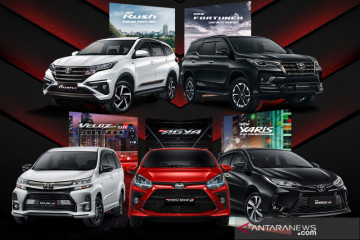 Agya hingga Veloz, Toyota hadirkan lima model GAZOO Racing