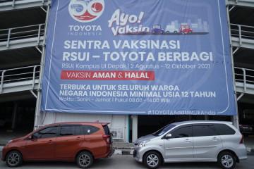Toyota Indonesia gandeng RSUI gelar vaksin gratis untuk 50.000 dosis