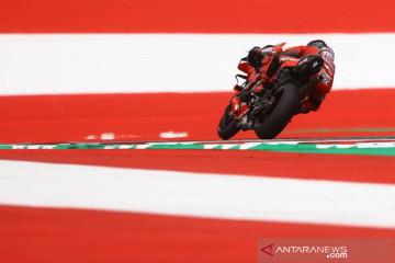 Pebalap Red Bull KTM Factory Racing Brad Binder berhasil menjuarai MotoGP Austria