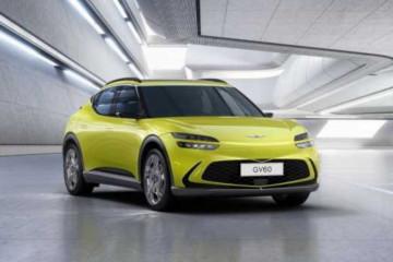 Genesis luncurkan desain SUV listrik GV60