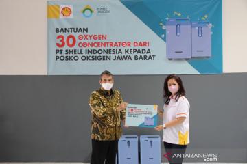 Shell dukung penanganan pandemi lewat donasi konsentrator oksigen