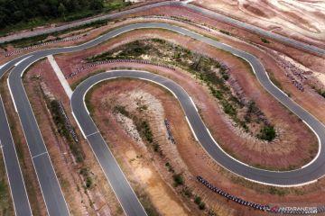 Emas road race modifikasi beregu PON Papua milik tuan rumah