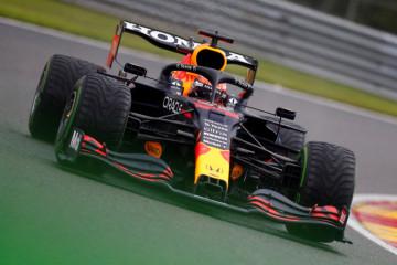 Verstappen pimpin finis 1-2 Red Bull di FP3 basah GP Belgia