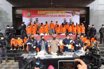 Polda Metro usut penjualan senjata api kepada pencuri sepeda motor