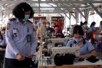 Menyiapkan lapas sebagai industri di bidang garmen