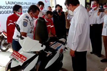 Kementerian ESDM konversi motor BBM menjadi motor listrik