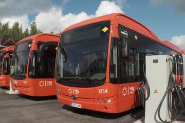 76 bus listrik baru beroperasi di Helsinki
