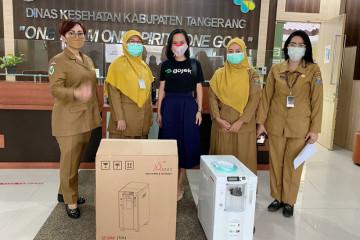 Pemkot Tangsel apresiasi bantuan konsentrator oksigen GoTo