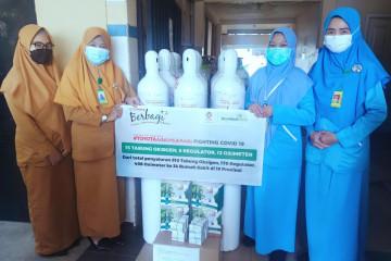 Toyota salurkan 810 tabung oksigen ke 40 rumah sakit di Indonesia