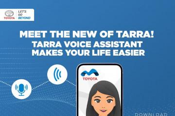 Toyota Astra sematkan fitur Voice Command pada aplikasi digital TARRA