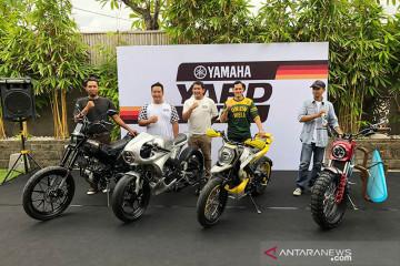 'Builder' sepeda motor custom di Bali selesaikan modifikasi XSR 155