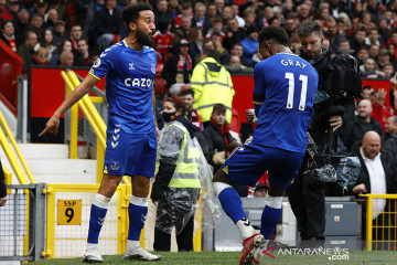 Townsend ungkapkan alasannya tiru selebrasi gol Ronaldo saat lawan MU