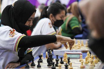 Lima emas diperebutkan di hari terakhir pertandingan catur PON Papua