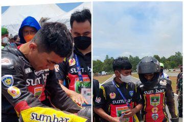 NTB ukir sejarah dengan emas roadrace modifikasi beregu PON Papua