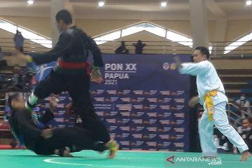 Juara Asian Games tumbang di tangan pesilat Kalimantan Timur